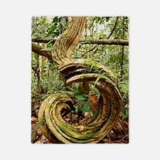Rainforest undergrowth Twin Duvet