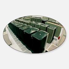 IBM supercomputers Sticker (Oval)