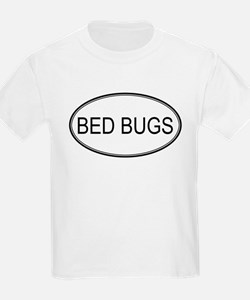 Oval Design: BED BUGS Kids T-Shirt