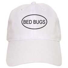 Oval Design: BED BUGS Baseball Cap