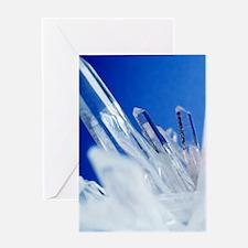 Quartz crystals Greeting Card