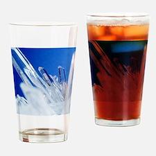 Quartz crystals Drinking Glass