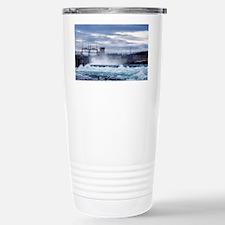 Hydroelectric dam, Canada Travel Mug