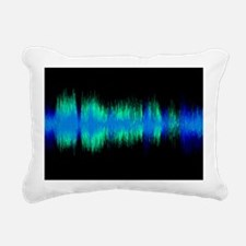 Sound byte, artwork Rectangular Canvas Pillow