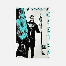 Giant Black Sea Bass Rectangle Magnet
