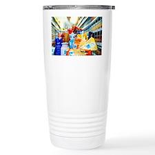 Intelligent labels Travel Mug