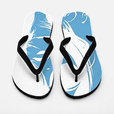 Ski Cooper Lady Silhouette Flip Flops