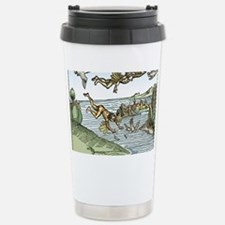 Icarus and Daedelus Stainless Steel Travel Mug