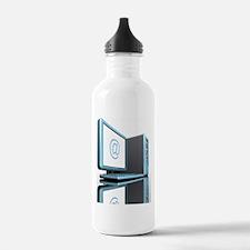 Internet communication Water Bottle