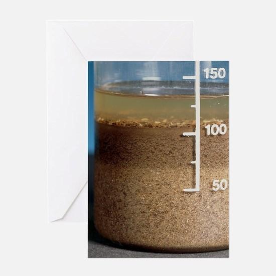 Soil analysis Greeting Card