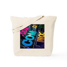 Internet city Tote Bag