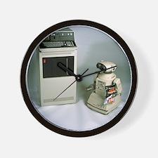 IBM 5110 and Omnibot 2000 robot Wall Clock