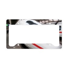ICE express train License Plate Holder