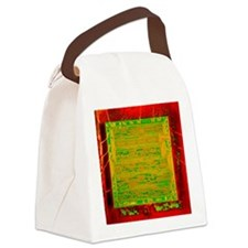 Integrated microchip Canvas Lunch Bag