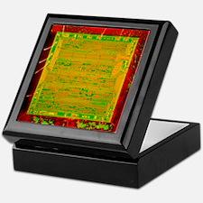 Integrated microchip Keepsake Box