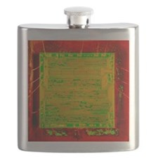 Integrated microchip Flask