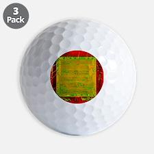 Integrated microchip Golf Ball