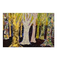Beautiful Bark Tree Art Postcards (Package of 8)