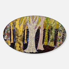 Beautiful Bark Tree Art Decal