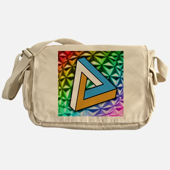 Impossible shape Messenger Bag