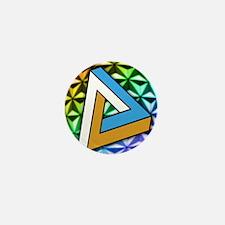Impossible shape Mini Button
