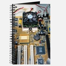 Internal parts of a personal computer Journal