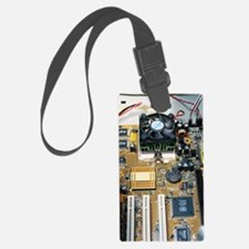 Internal parts of a personal com Luggage Tag