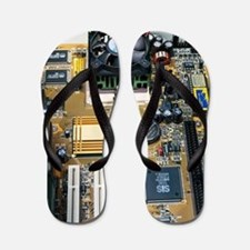 Internal parts of a personal computer Flip Flops
