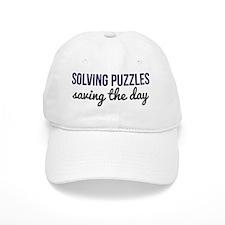 Solving Puzzles, Saving the Day Baseball Cap