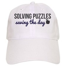 Solving Puzzles, Saving the Day Bering & Wells Baseball Cap