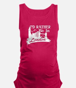 I'd rather be in London Tank Top