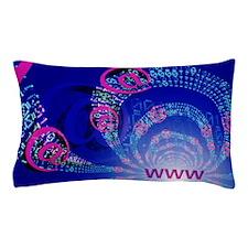 Internet abstract Pillow Case