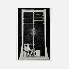 Serrin lamp, 19th century Rectangle Magnet