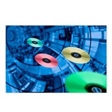 Information superhighway, Postcards (Package of 8)