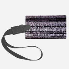 Internet computer code Luggage Tag