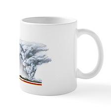 Volcanic ejecta, artwork Small Mug