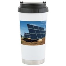 Solar park, Ciudad Real, Spain Travel Mug