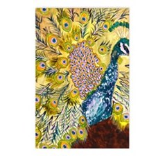 Peacock Pistachio Postcards (Package of 8)