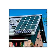 "Solar technology, Germany Square Sticker 3"" x 3"""