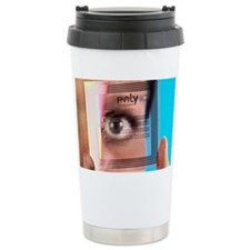 Intelligent label chip Travel Coffee Mug
