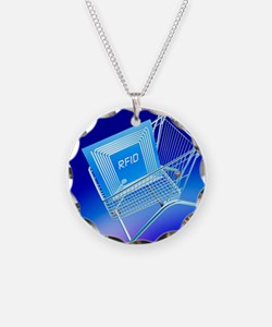 Intelligent label Necklace