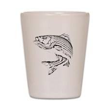 Striped Bass Shot Glass