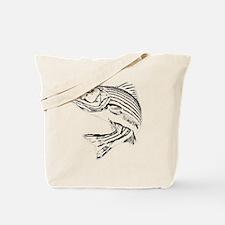 Striped Bass Tote Bag
