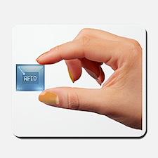 Intelligent label chip Mousepad