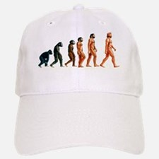 Stages in human evolution Baseball Baseball Cap