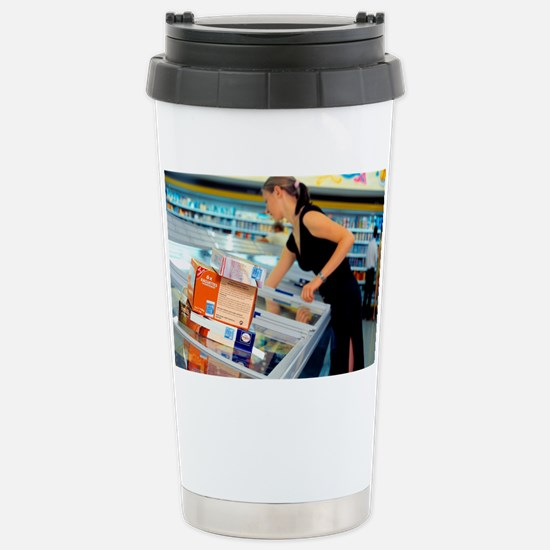 Intelligent labels Stainless Steel Travel Mug