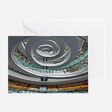 Interior of City Hall, UK Greeting Card