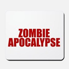 Exciting zombie apocalypse Mousepad