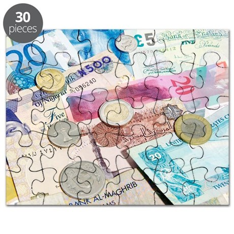International currency Puzzle