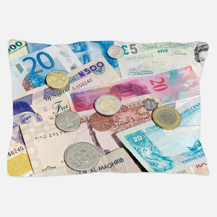International currency Pillow Case